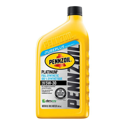 Pennzoil Platinum SyntheticEngine Oil, 946-mL