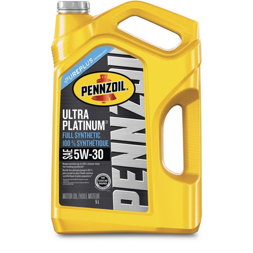 550040832 Pennzoil 5W30 Ultra Platinum Synthetic Engine Oil, 5-L