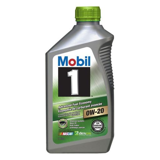 Mobil 1 Advanced Fuel Economy Synthetic Engine Oil, 1-L