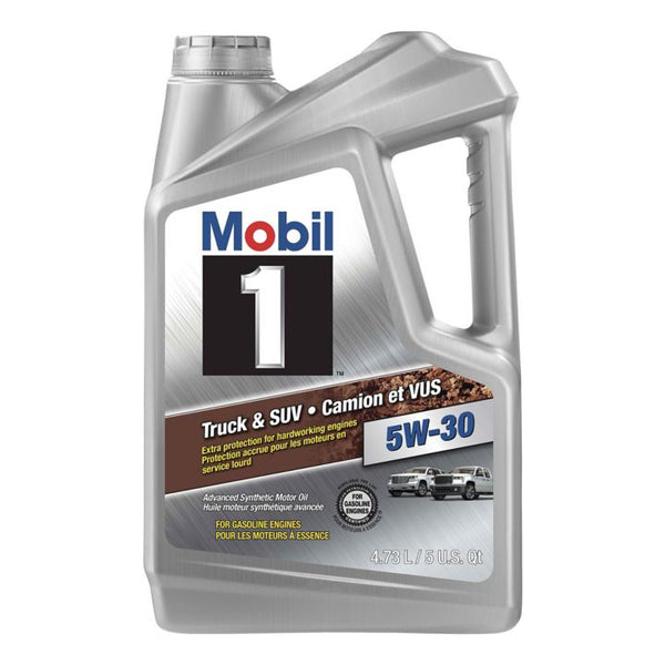 Mobil 1™ Truck & SUV Formula Synthetic Motor Oil, 4.73-L
