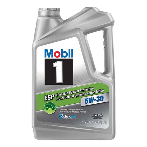Mobil 1™ Emission System Protection 5W30 Synthetic Motor Oil, 4.73-L