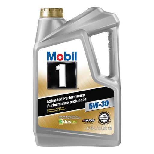 Mobil 1 Extended Performance Synthetic Oil, 4.73 L