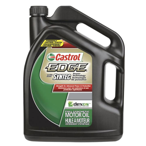 2018-3A Castrol EDGE 0W40 Synthetic Motor Oil, 5-L