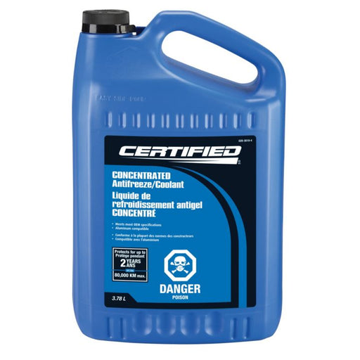 36-244C Certified Concentrated Anti-Freeze/Coolant, 3.78-L