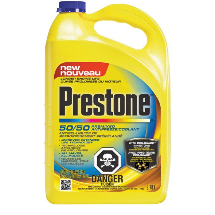 71175 Prestone Premixed Long Life Anti-Freeze/Coolant, 3.78-L