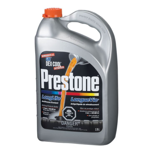 71118 Prestone Extended Life DEX-COOL Concentrate Anti-Freeze/Coolant, 3.78-L