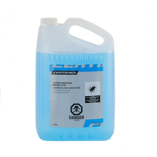15-213OEM Certified Summer Windshield Washer Fluid with Bug Remover, 3.78-L