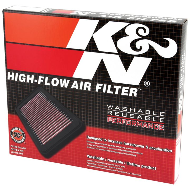 33-2498 K&N High-Flow Replacement Air Filter