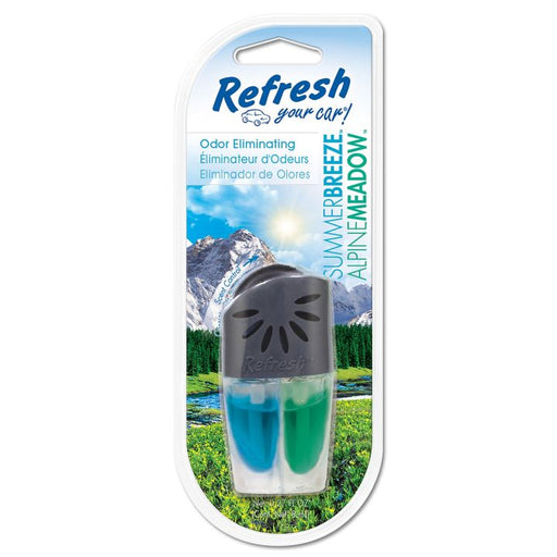 Refresh Your Car! Odour Eliminating Oil Vent Air Freshener