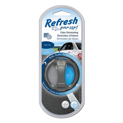 Refresh Dual Scent Diffuser Car Air Freshener