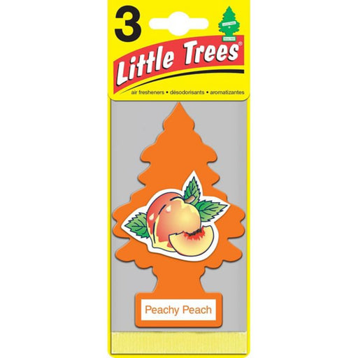 U3S-32019 Little Trees Hanging Air Freshener, Peachy Peach, 3-pk