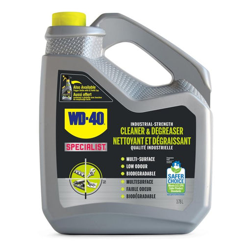 WD-40 Specialist Industrial Strength Cleaner & Degreaser, 3.78-L