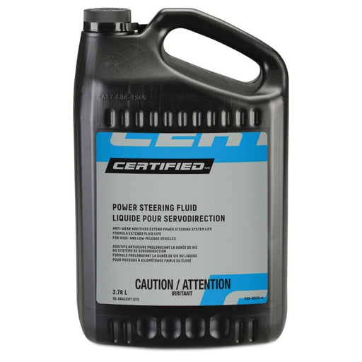 0380655 Certified Power Steering Fluid, 3.78-L