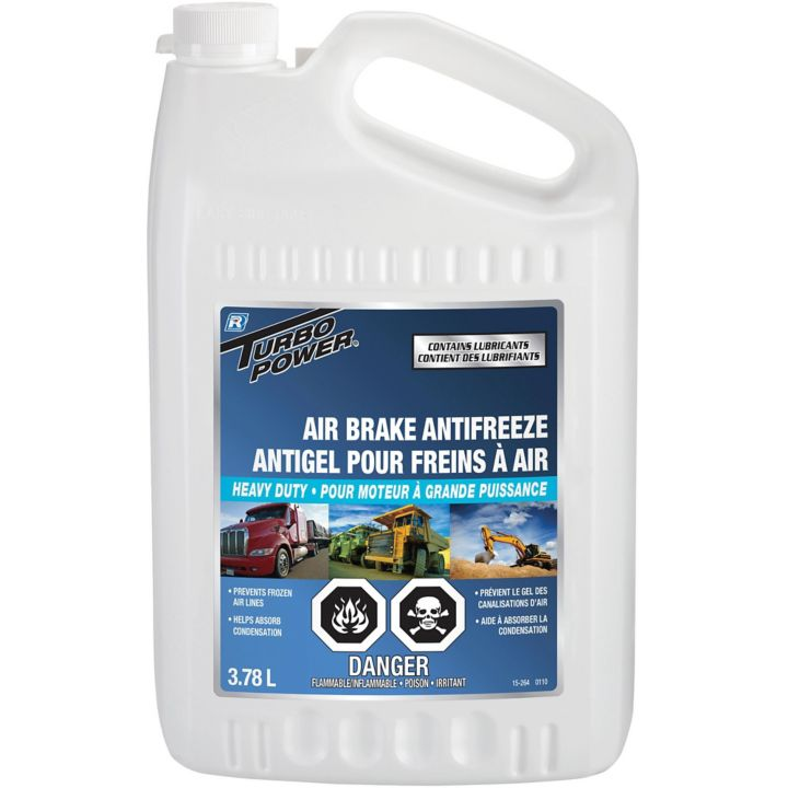 0380890 Turbo Power Air Brake Antifreeze, 3.78-L