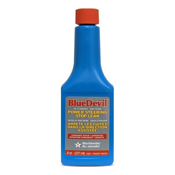 BlueDevil Power Steering Stop Leak, 237-mL