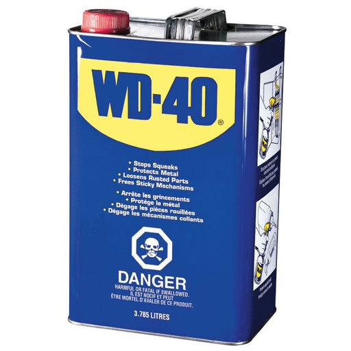 WD-40 Multi-Purpose Lubricant, 3.78 L