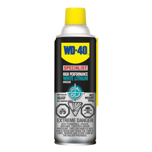 01180 WD-40 Specialist High Performance White Lithium Grease, 283-g
