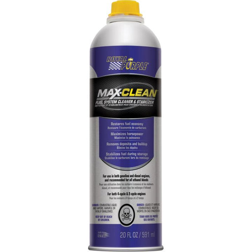 0388070 Royal Purple Max-Clean Fuel System Cleaner & Stabilizer, 591-mL