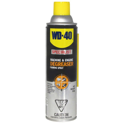 01206 WD-40 Specialist Machine & Engine Degreaser Foaming Spray, 510-g