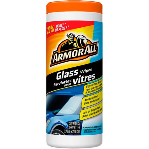 10850 Armor All® Glass Wipes, 25-pk