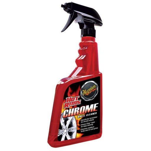 G14024C Meguiar's Hot Rims Chrome Wheel Cleaner, 709-mL