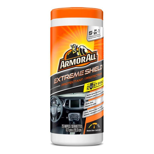 Armor All Extreme Shield Protectant Wipes, 25-ct