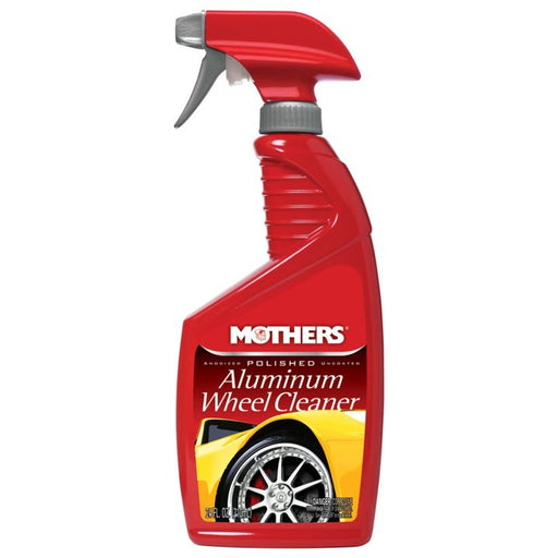 36024 Mothers Polished Aluminum Wheel Cleaner, 24-oz