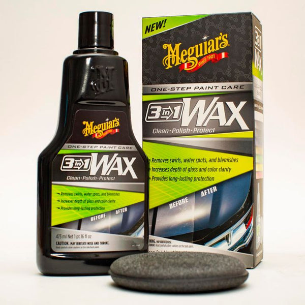 Meguair's 3-in-1 Wax, 473-mL
