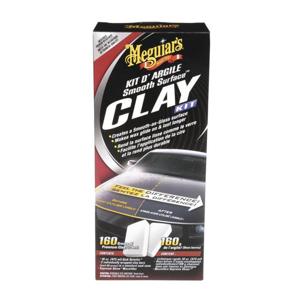 G-1116C Meguiar's Smooth Surface Clay Kit