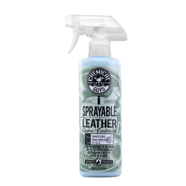 Chemical Guys Sprayable Leather Cleaner & Conditioner, 473-mL