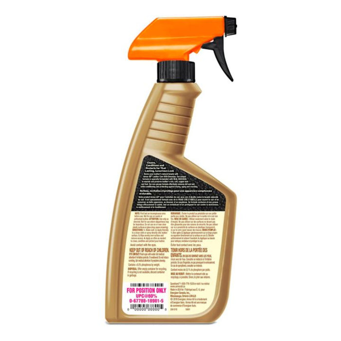 Armor All Premium Beeswax Leather Cleaner, 473-mL