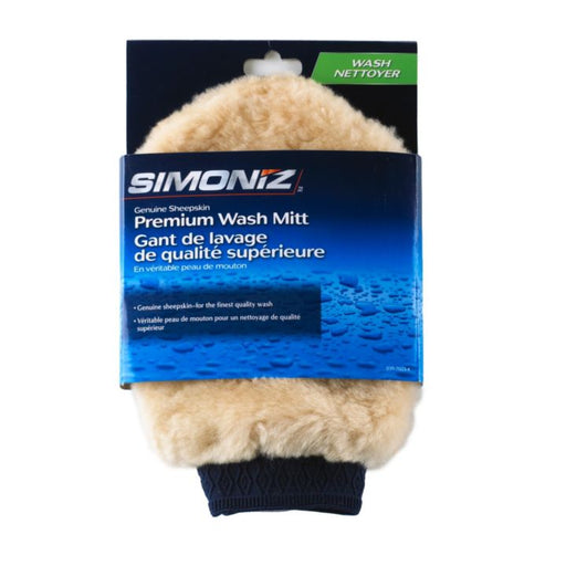 17764 Simoniz Genuine Sheepskin Wash Mitt