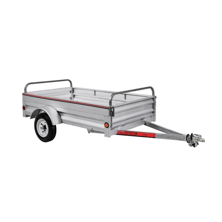 504036 Stirling Galvanized Box Trailer, 4 x 7-ft