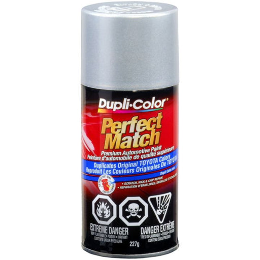 CBTY1617 Dupli-Color Perfect Match Paint, Classic Silver Mica (1F7)