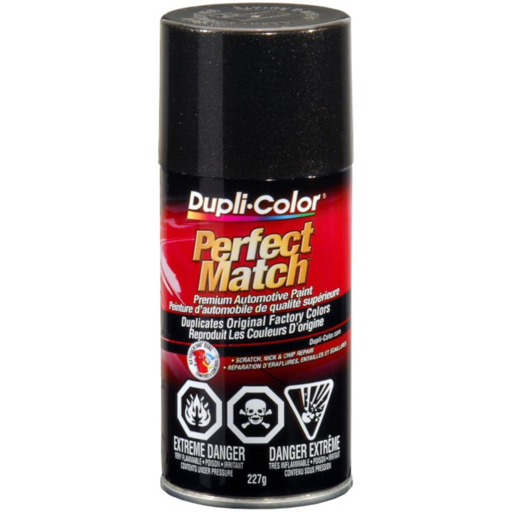 CBUN0090 Dupli-Color Perfect Match Paint, Black Metallic