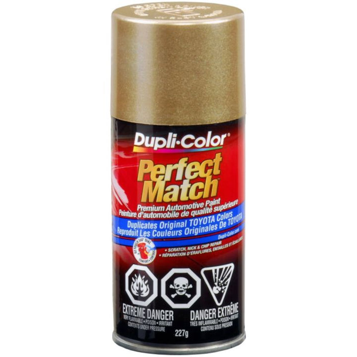 CBTY1625 Dupli-Color Perfect Match Paint, Light Beige Metallic (4D2)
