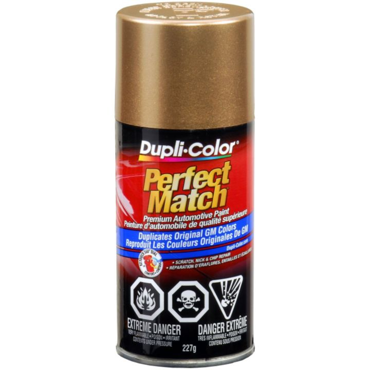 CBGM0491 Dupli-Color Perfect Match Paint, Gold Metallic (60WA398E)