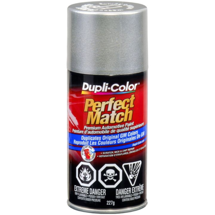 CBGM0530 Dupli-Color Perfect Match Paint, Light Tarnished Silver Metallic (67WA994l)