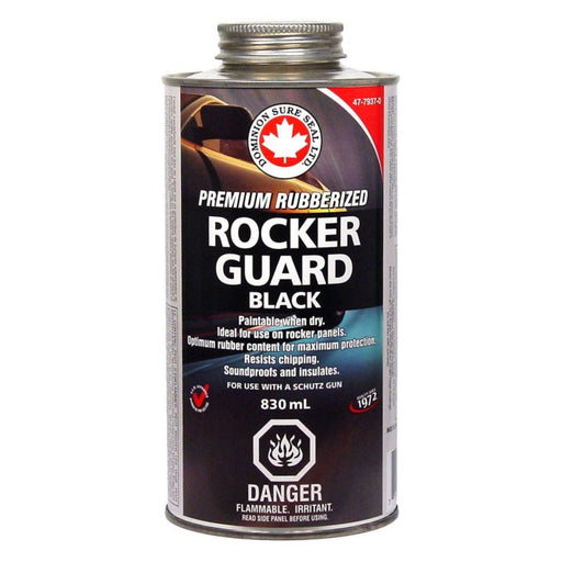 BUF Rubberized Rockerguard Undercoating, 830ml Shutz Black