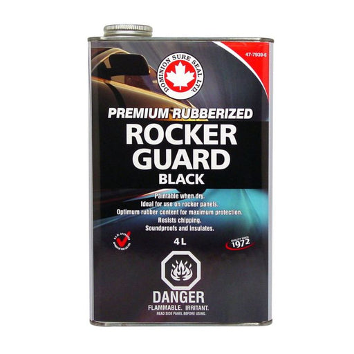 BUF1 Rubberized Rockerguard Undercoating, 4L Black