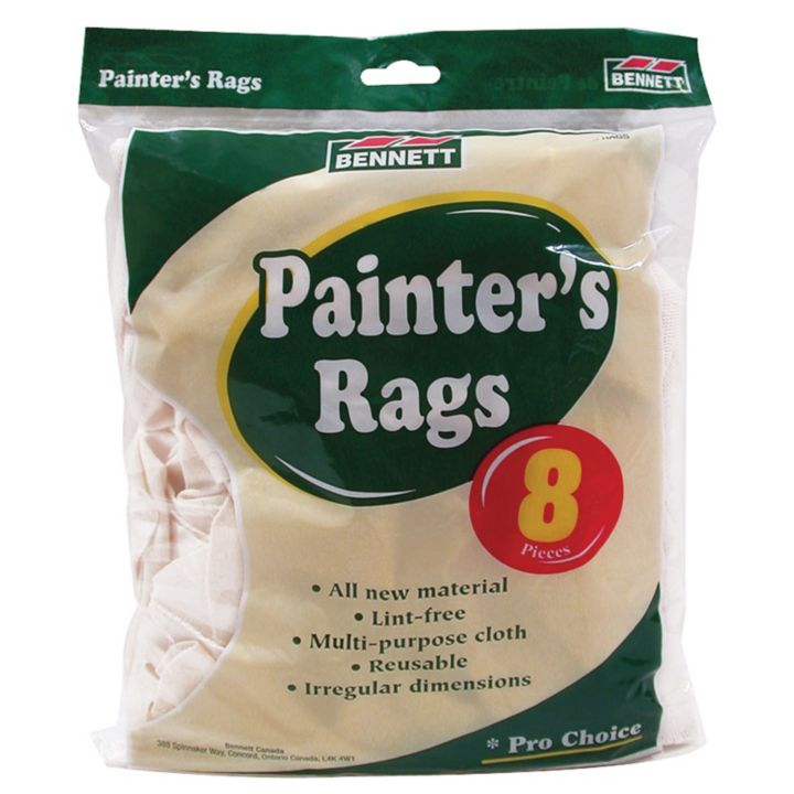 8RAGS Bag of Rags, 8-pc