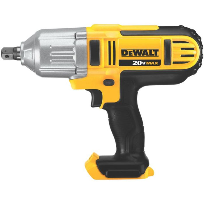 DCF889B DEWALT 20V Max Li-Ion Cordless High-Torque Impact Wrench, 1/2-in, Tool-Only