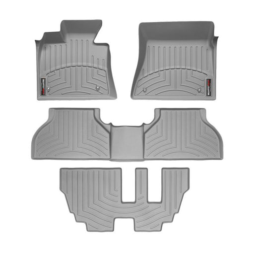 0031-061GR24 WeatherTech® Custom Front, Rear and 3rd Row FloorLiner™ Kit, Grey