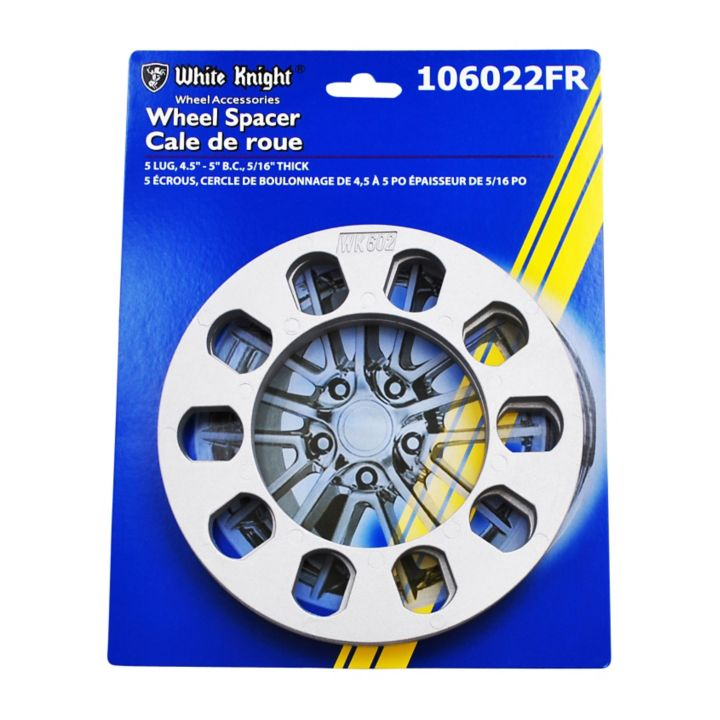 106022FR White Knight 106022FR Spacer, Silver, 2-pk