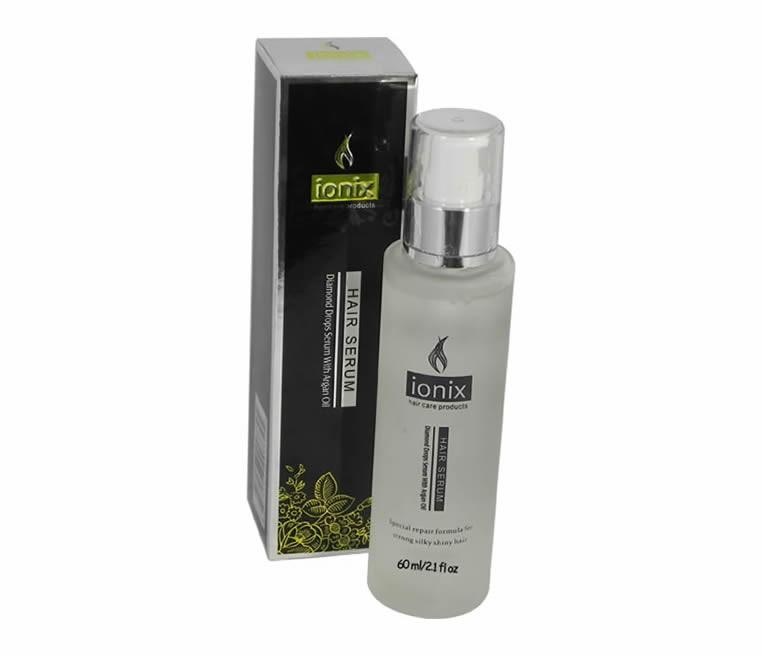 IONIX Black Diamond - Diamond Drops Hair Serum with Argan Oil