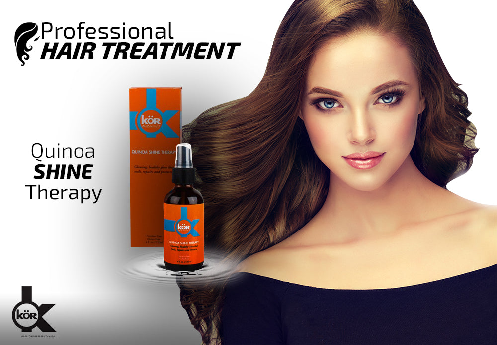 Professional Hair Treatment: QUINOA SHINE THERAPY