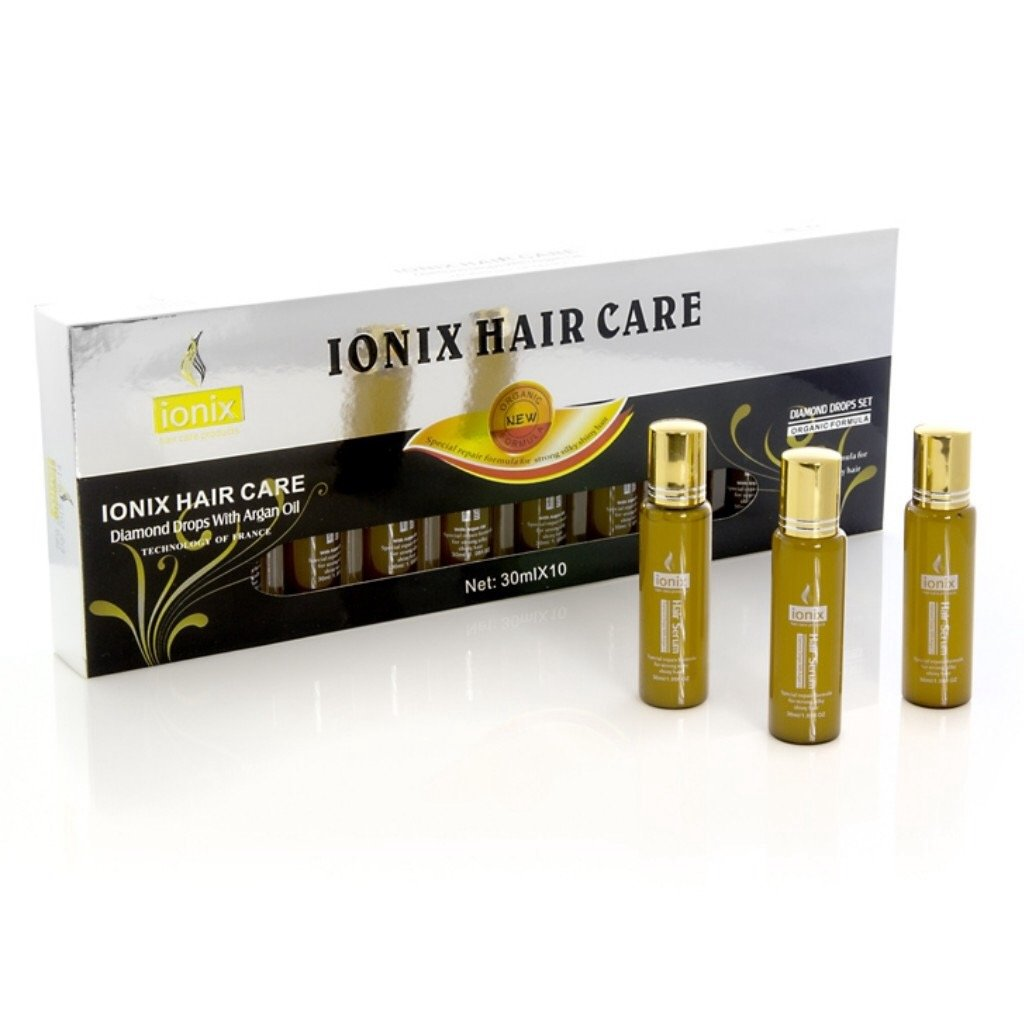 IONIX Black Diamond - 10 pc. Serum Set with Argan Oil
