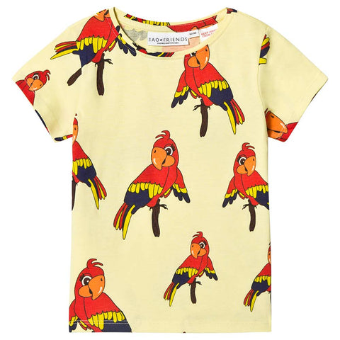Parrot T-Shirt - Yellow