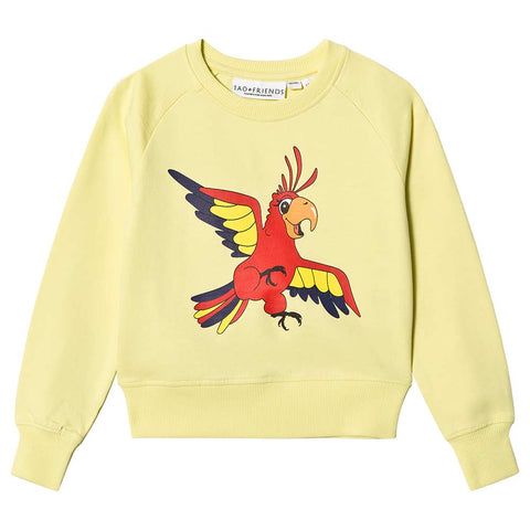 Parrot Sweatshirt - Yellow