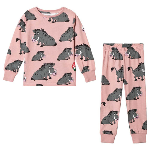 Pink Boar Two-Piece